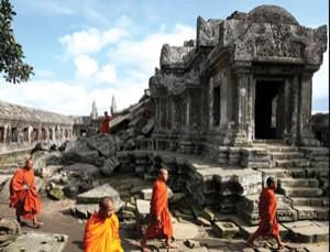 Preah Vihear is now in a war zone