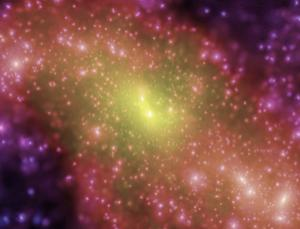 Dark matter simulations accurately reproduce the large-scale cosmos