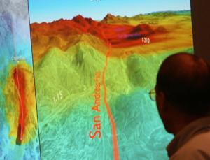 How a 7.8-magnitude earthquake might spread along the San Andreas fault