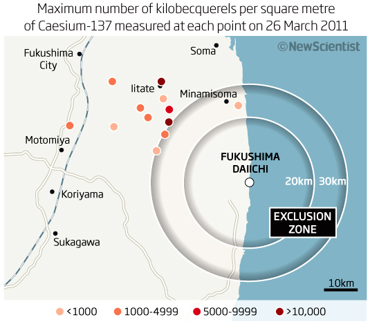 IAEA says Fukushima fallout warrants more evacuation