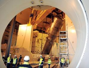 The first of Areva's third-generation nuclear plants is being built at Olkiluoto, Finland