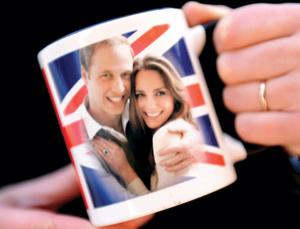 Prince William is Kate Middleton's cup of tea: hot, sweet, strong and hand picked