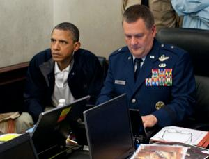 President Obama is updated during the raid that killed Osama bin Laden