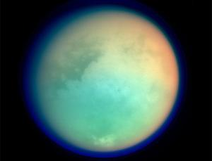 Titan is the only moon in the solar system with much atmosphere