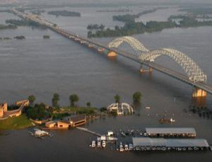 Memphis feels the force of the flood