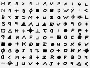 Zodiac may have sent this coded message to a newspaper after killing someone by a lake