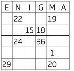 Enigma Number 1657