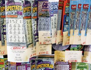 Winning scratch cards aren't always allocated in a random way