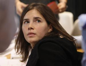 Amanda Knox before the verdict