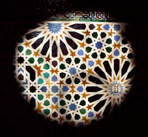 Penrose meets Alhambra