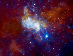 Mystery in the middle of the Milky Way