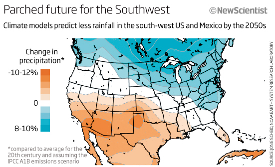 Parched future for the Southwest