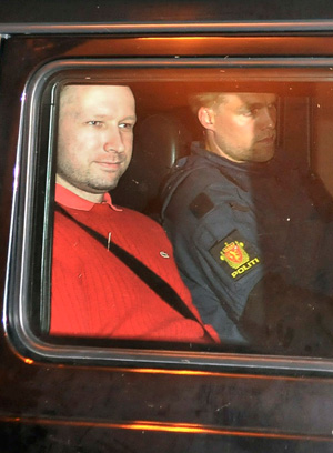 Norwegian mass killer Anders Breivik declared 'insane'