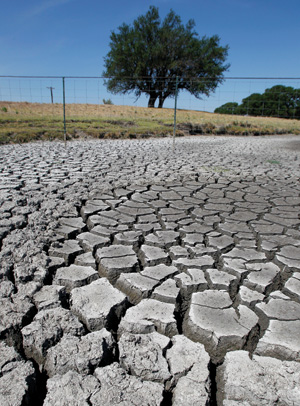 The dry heart of Texas