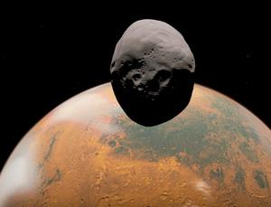 Is Phobos a leftover asteroid