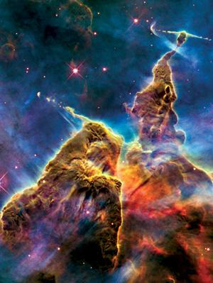 How did the Carina nebula get started?