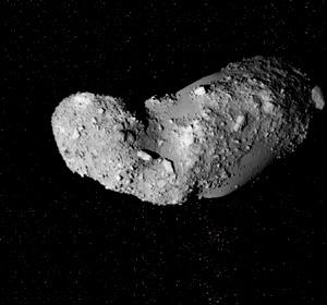 We could visit small asteroids such as Itokawa - if they are not spinning rapidly