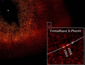 Hubble's view of the mysterious Fomalhaut b