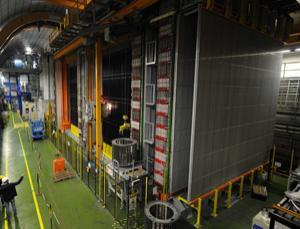 OPERA's neutrino detector