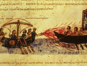 The power of Greek fire is beyond doubt