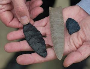 European-style stone tools found in North America