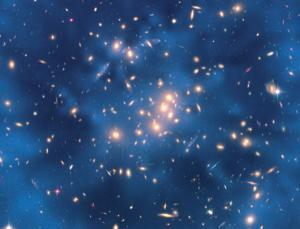 Repulsed by dark energy? Image: NASA/ESA/M. J. Jee