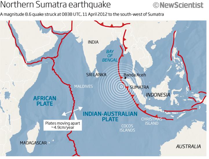 Magnitude 8.6 earthquake sparks tsunami