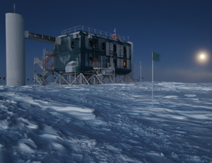 The IceCube telescope in the South Pole found no neutrinos