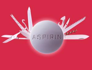 Aspirin activates AMPK, an enzyme involved in metabolism, which plays a role in cancer