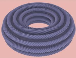 Doesn't look much like a square, but a square can be transformed into this torus