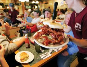 Over 20 years, portions in US restaurants have doubled or tripled