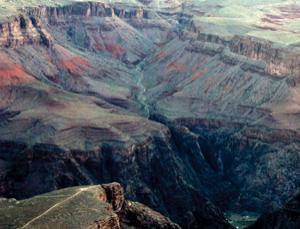 The Great Unconformity is visible in the Grand Canyon