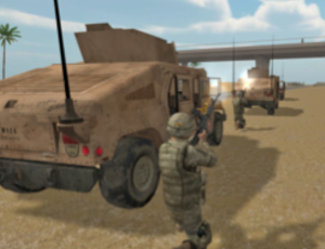 Virtual reality provides relief from soldiers' trauma