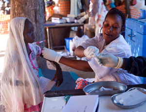 MSF vaccination campaign in Chad