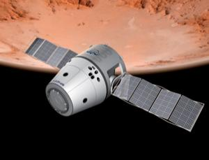 Dragon dreaming: how the capsule might look on a trip to Mars
