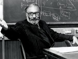 Abdus Salam, whose work helped complete the standard model of physics