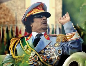 Does the science of power make sense of Muammar Gaddaffi's behaviour?