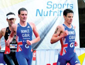 Brothers Alistair and Jonathan Brownlee are successful triathletes