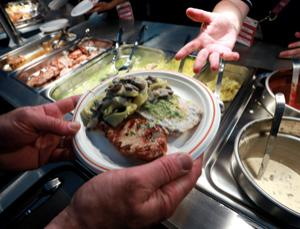 Around 14 million meals will be dished up during the London games