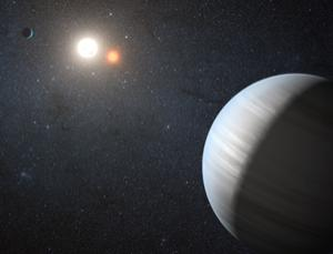 Kepler-47 system: Possible habitable zone