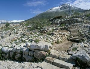The palace of Mycenae today. All empires fall – but why?