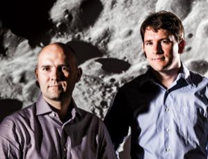 Eric Anderson (left) and Chris Lewicki (right) aim to launch asteroid-spotting telescopes by 2014