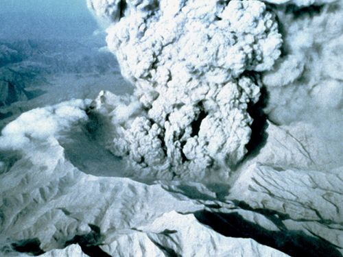 Sulphur aerosols from large volcanic eruptions can cool the planet for a couple of years (Stocktrek/Corbis)