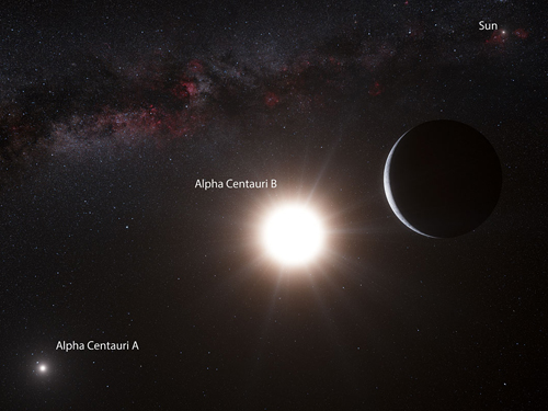 First planet found in star system next door