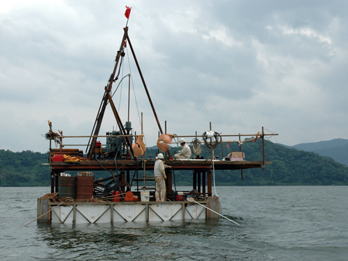 Drilling into the past at Suigetsu in central Japan