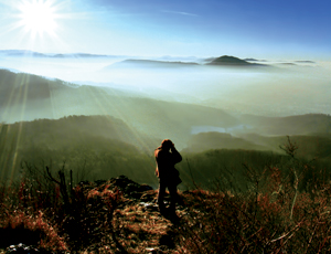Hiking in the Jura mountains is a popular pastime