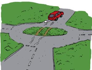 Feedback: How roundabouts combat global warming