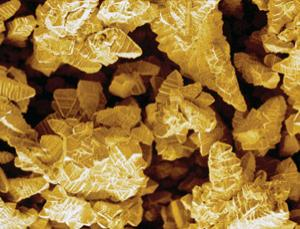 The Midas touch: relativity theory has been used to explain gold's unique yellow colour