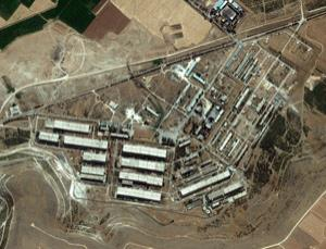 Syria is said to have many facilities associated with chemical weapons, such as this at al-Safirah