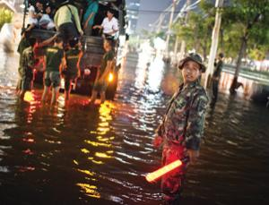 In 2011, Bangkok sat under metres of stagnant water for months